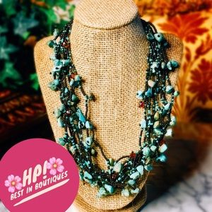 Jewelry - 🌸HP!!🌸Chunky Turquoise Necklace